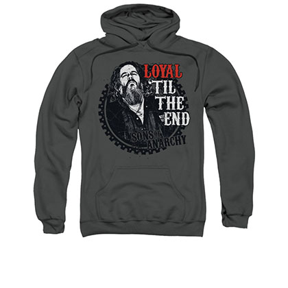 Sons Of Anarchy Loyal Gray Pullover Hoodie