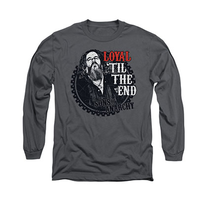 Sons Of Anarchy Loyal Gray Long Sleeve T-Shirt