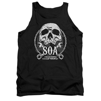 Sons Of Anarchy SOA Club Black Tank Top