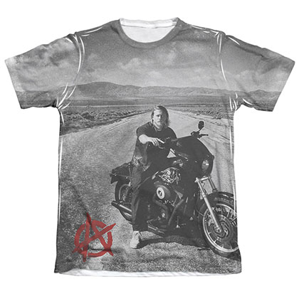 Sons Of Anarchy Open Road Sublimation T-Shirt