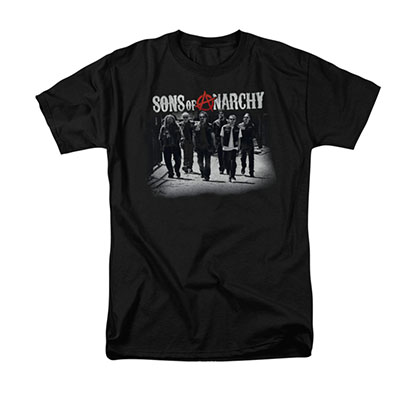 Sons Of Anarchy Rolling Deep Black T-Shirt