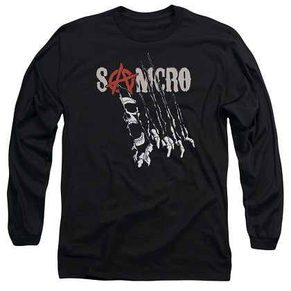 Sons Of Anarchy Rip Through Long Sleeve Tshirt
