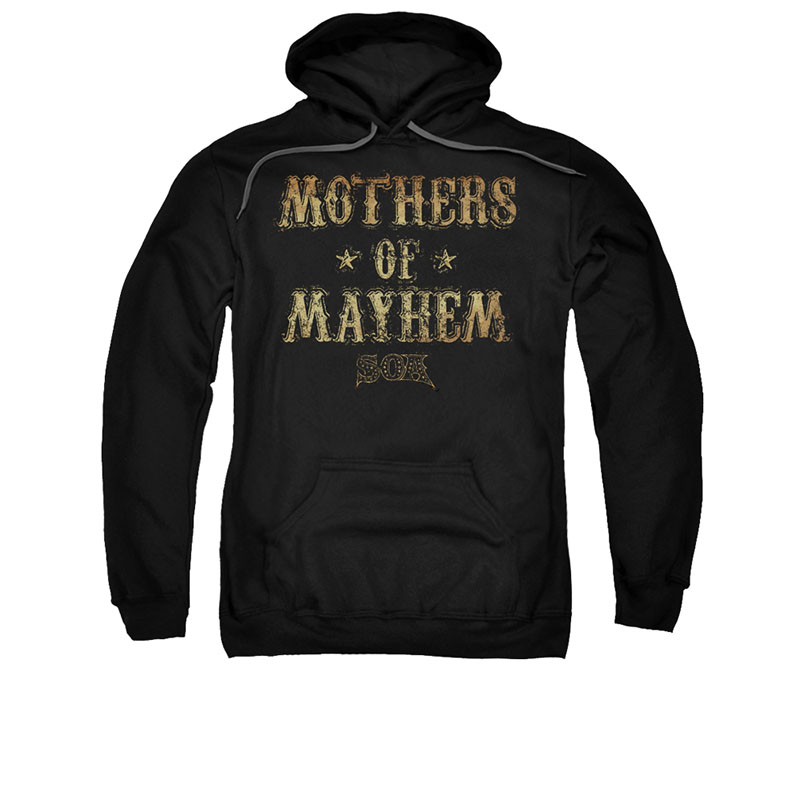Sons Of Anarchy Mothers Of Mayhem Black Pullover Hoodie