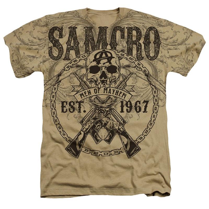 Sons Of Anarchy Men of Mayhem Tshirt