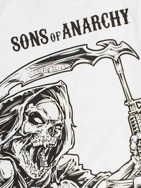 Prächtig Sons Of Anarchy SAMCRO New White Reaper Tank Top | TVMovieDepot.com &FB_25
