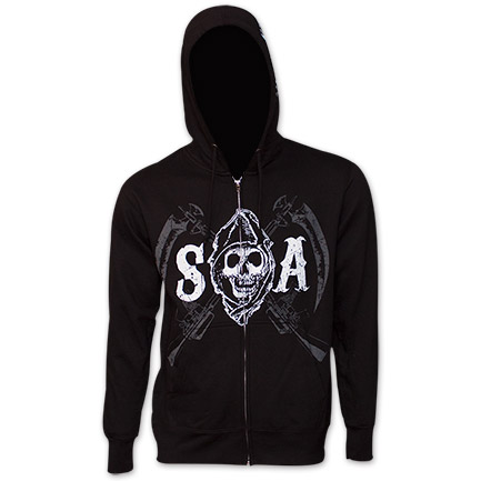 Sons Of Anarchy Motorcycle Club Hoodie - Black