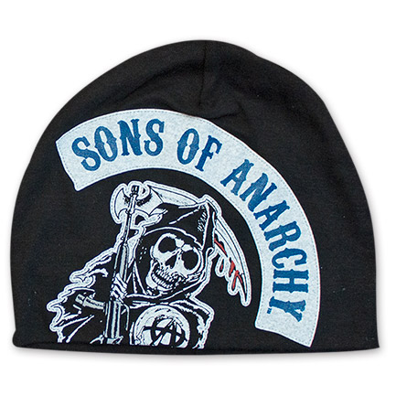 Sons Of Anarchy Motorcycle Club Patch Beanie