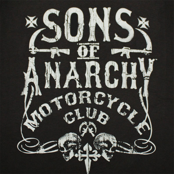 Sons of Anarchy Motorcycle Club T-Shirt - Black