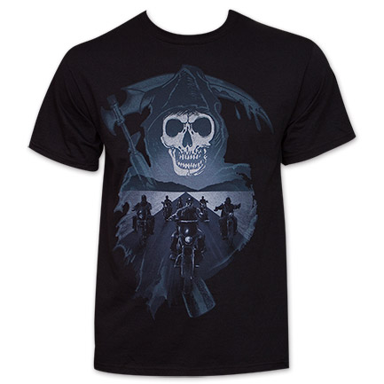 Sons Of Anarchy Reaper Crew Motorcycles Tee Shirt