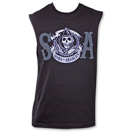 Sons of Anarchy SOA Reaper Crew Mens Muscle Tank