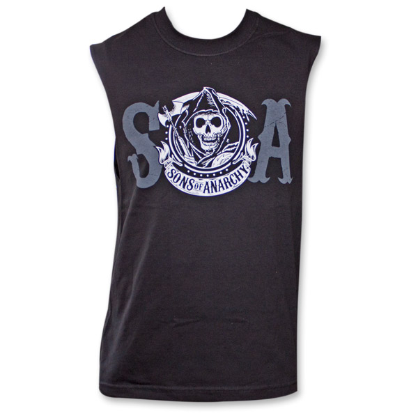 d89a3c2791b Sons of Anarchy SOA Reaper Crew Mens Muscle Tank ...