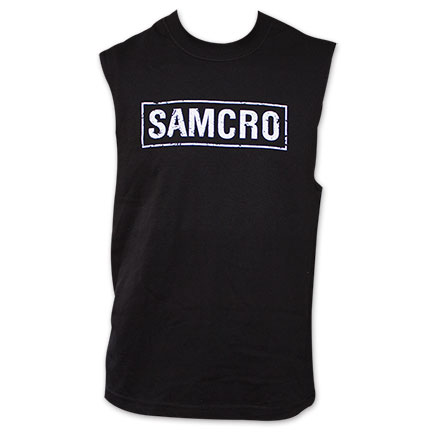Sons of Anarchy SAMCRO Logo Men's Muscle Tank