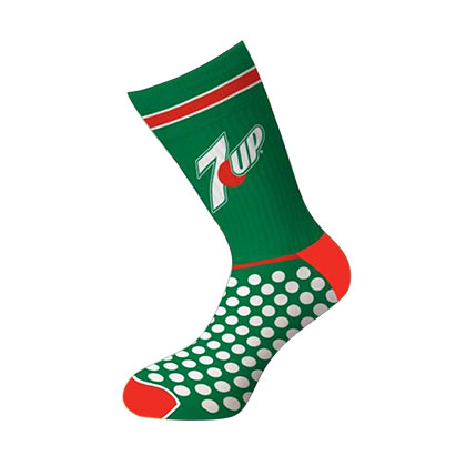 7UP Logo Crew Socks