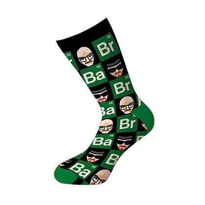 Breaking Bad Faces Crew Socks