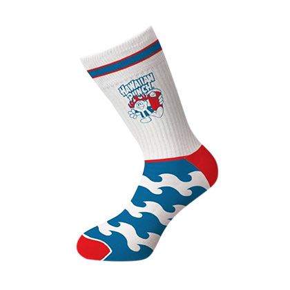 Hawaiian Punch Logo Crew Socks