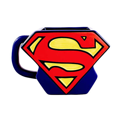 Superman Blue Shaped Logo Mug