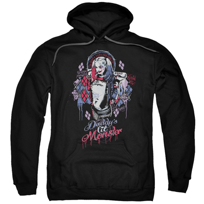 Suicide Squad Daddys Lil Monster Inked Hoodie