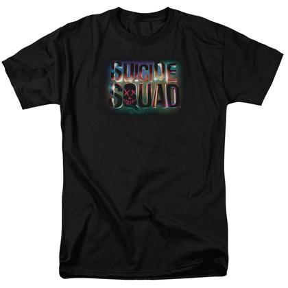 Suicide Squad Logo Men's Black Tshirt