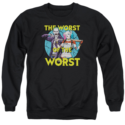 Suicide Squad Worst Pair Crewneck Sweatshirt