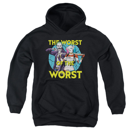 Suicide Squad Worst of the Worst Youth Hoodie