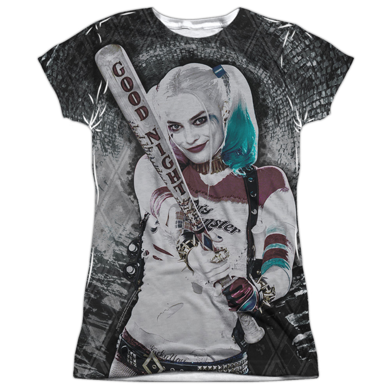 Harley Quinn Good Night Women s Sublimation Shirt  8e14e2e850