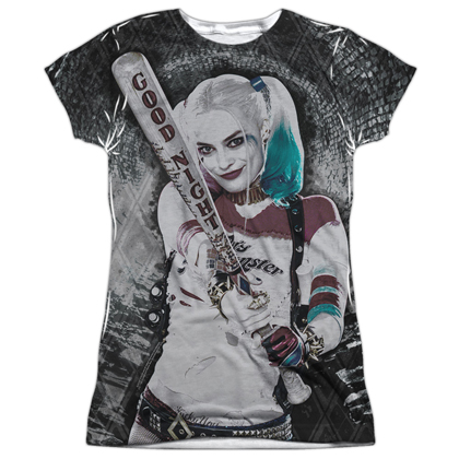 Harley Quinn Good Night Women's Sublimation Shirt