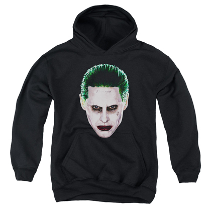 Suicide Squad Joker Face Youth Hoodie