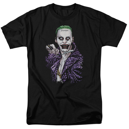 Suicide Squad Joker Switch Blade Men's Black Tshirt
