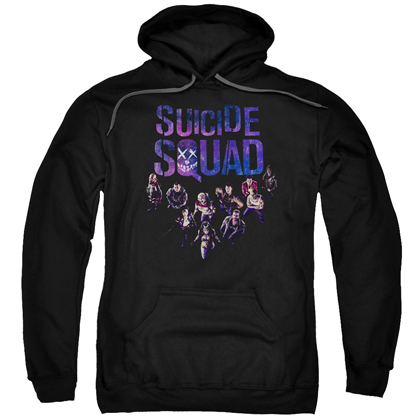 Suicide Squad The Squad Logo Adult Hoodie