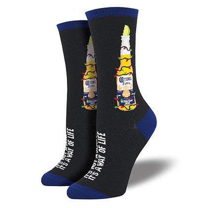 Corona Extra Christmas Coronavidad Women's Socks