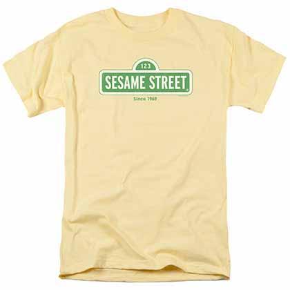 Sesame Street Since 1969 Yellow T-Shirt