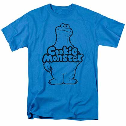 Sesame Street Cookie Body Blue T-Shirt