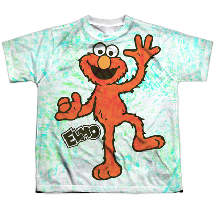 Sesame Street Elmo Scribble Youth Tshirt