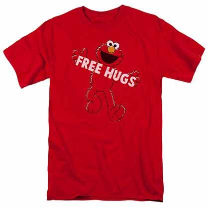Sesame Street Free Hugs Red T-Shirt