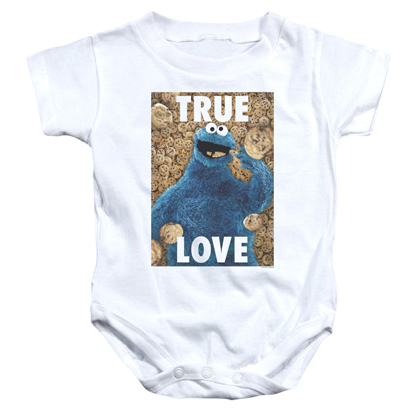 Sesame Street Cookie Monster True Love Onesie