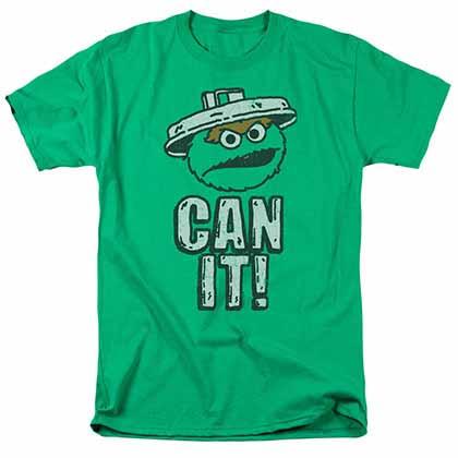 Sesame Street Can It Green T-Shirt