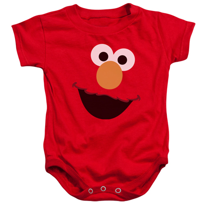 Sesame Street Elmo Face Onesie