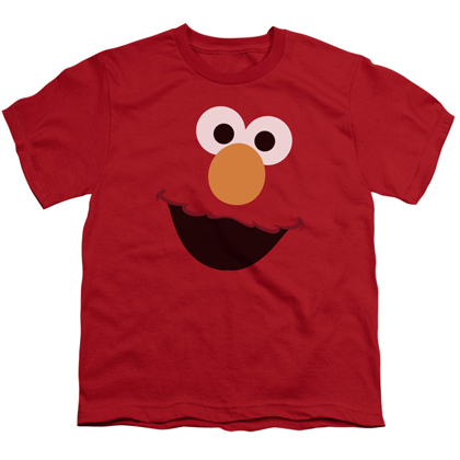 Sesame Street Elmo Big Face Youth Tshirt