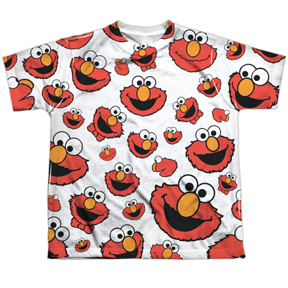 Sesame Street Elmo Faces Youth Tshirt