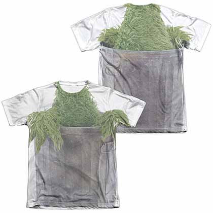 Sesame Street Oscar Costume  White 2-Sided Sublimation T-Shirt