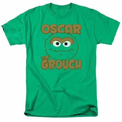 Sesame Street Oscar Sandwich Green T-Shirt