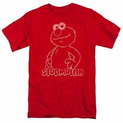 Sesame Street Studmuffin Red T-Shirt