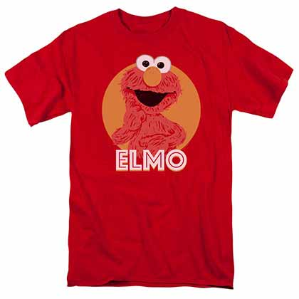 Sesame Street Elmo Scribble Red T-Shirt