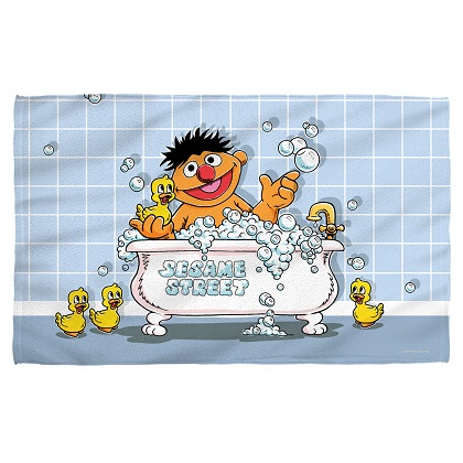 Sesame Street Rubber Ducky Beach Towel