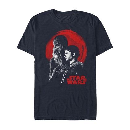 Star Wars Han Solo Story Spaghetti Western Tshirt