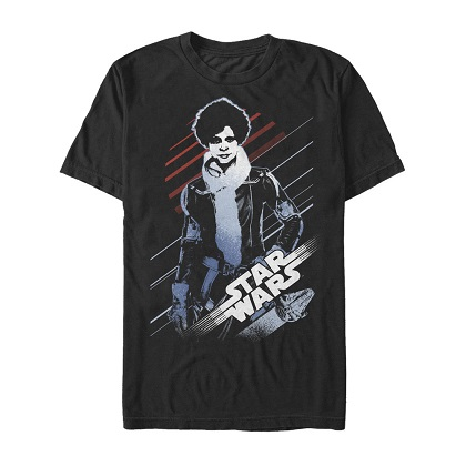 Star Wars Han Solo Story Newtons Up Tshirt