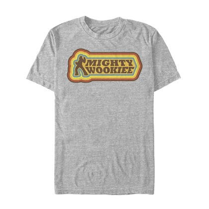 Star Wars Han Solo Story Mighty Wookie Tshirt