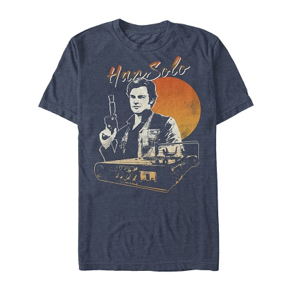 Star Wars Han Solo Story Smirk Tshirt