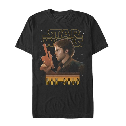 Star Wars Han Solo Story Scoundrel Tshirt