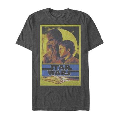 Star Wars Han Solo Story Bro's Tshirt